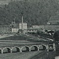 Die Webermühle um 1915.