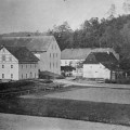 Die Webermühle um 1881.